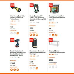 Tools offers in the B&Q catalogue in Bridgend