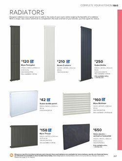 Radiator offers in the B&Q catalogue in London