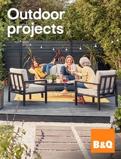B&Q catalogue ( More than a month )