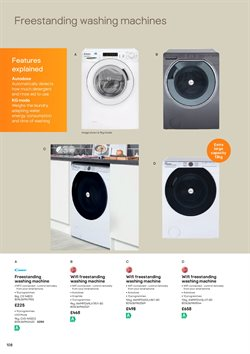 Offers of Washing machine in B&Q