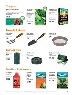 Offers of Compost in B&Q