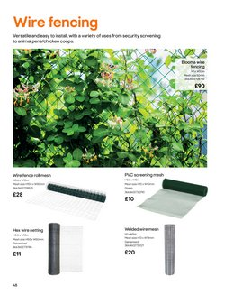 Animal offers in the B&Q catalogue ( 8 days left)