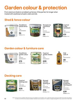 Offers of Decking in B&Q