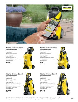 Offers of Pressure washer in B&Q