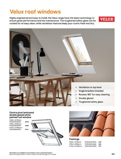 Velux offers in the B&Q catalogue ( More than a month)