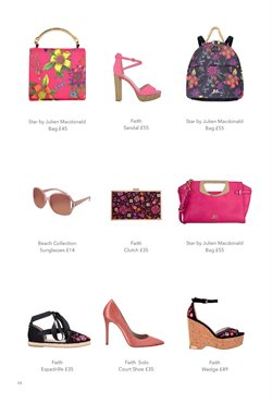 Espadrilles offers in the Debenhams catalogue in London