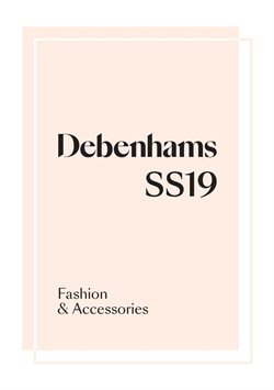Department Stores offers in the Debenhams catalogue in Glasgow