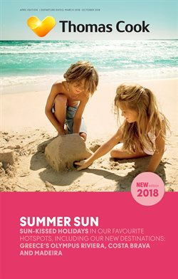 Travel offers in the Thomas Cook catalogue in Worthing