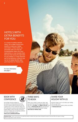 Flights offers in the Thomas Cook catalogue in Stoke-on-Trent