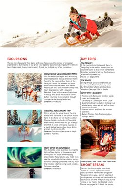 Safari offers in the Thomas Cook catalogue in London