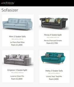 Sofology offers in the Sofology catalogue ( 28 days left)