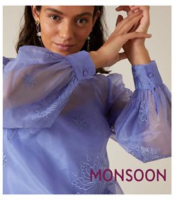 Clothes, Shoes & Accessories offers in the Monsoon catalogue in Swansea ( 25 days left )