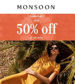 Monsoon offers in the Monsoon catalogue ( Expired)