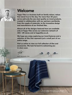 Tiles offers in the Topps Tiles catalogue in London