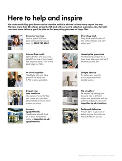 Tile offers in the Topps Tiles catalogue in London