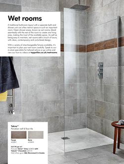 Shower offers in the Topps Tiles catalogue in London