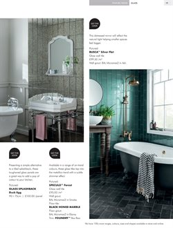 Tap offers in the Topps Tiles catalogue in London