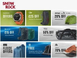 Sport offers in the Snow + Rock catalogue ( Expires today)