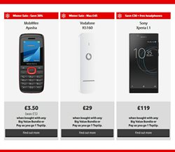 Mobile phones offers in the Vodafone catalogue in London