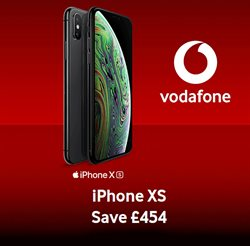 Electronics offers in the Vodafone catalogue in Leeds ( More than a month )