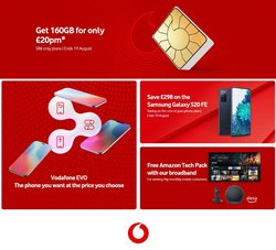 Vodafone offers in the Vodafone catalogue ( Expires tomorrow)