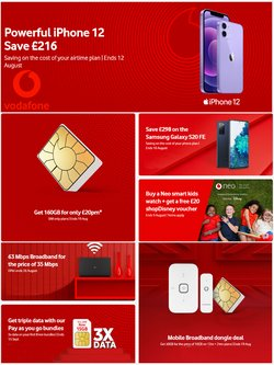 Electronics offers in the Vodafone catalogue ( 1 day ago)