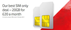 Vodafone offers in the Burton Upon Trent catalogue