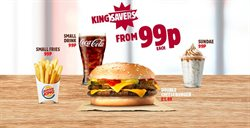 Restaurants offers in the Burger King catalogue in Liverpool