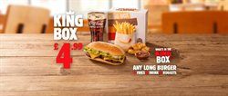 Restaurants offers in the Burger King catalogue in London