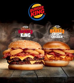 Restaurants offers in the Burger King catalogue in Worthing