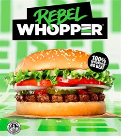 Restaurants offers in the Burger King catalogue in Walsall ( More than a month )