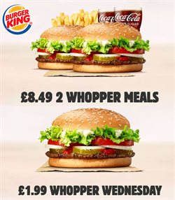 Burger King catalogue in Birmingham ( 12 days left )