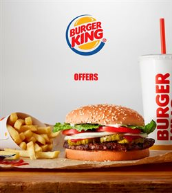 Restaurants offers in the Burger King catalogue in Glasgow ( 25 days left )