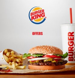 Burger King offers in the Burger King catalogue ( 8 days left)
