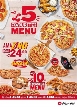 Pizza Hut catalogue ( 9 days left )