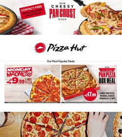 Restaurants offers in the Pizza Hut catalogue in Bolton ( 3 days left )