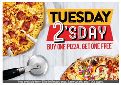 Pizza Hut offers in the London catalogue