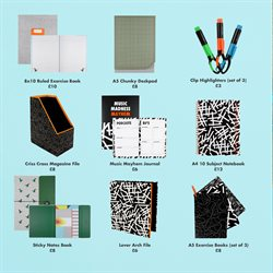 Note pad offers in the Paperchase catalogue in London