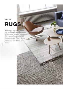 Rug offers in the BoConcept catalogue in London