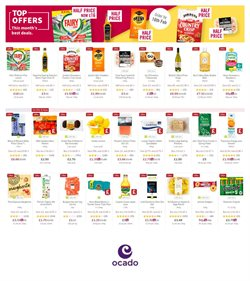 Supermarkets offers in the Ocado catalogue in Warrington ( 3 days left )