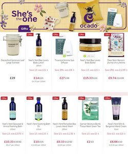 Mother's Day offers in the Ocado catalogue ( 1 day ago)