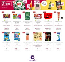 Supermarkets offers in the Ocado catalogue ( Published today)