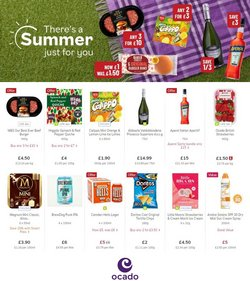 Ocado offers in the Ocado catalogue ( Expires tomorrow)
