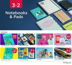 Books & Stationery offers in the WHSmith catalogue ( 9 days left)