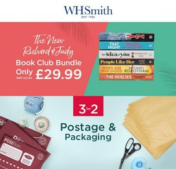 Books & Stationery offers in the WHSmith catalogue ( Expires today)