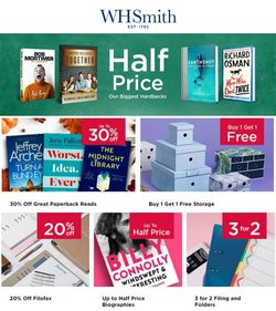 WHSmith offers in the WHSmith catalogue ( 2 days left)