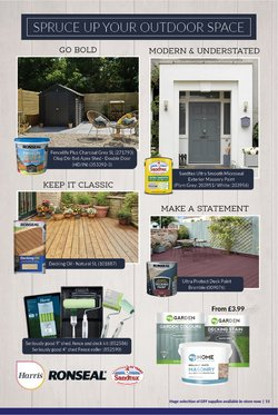 Offers of Decking in The Range