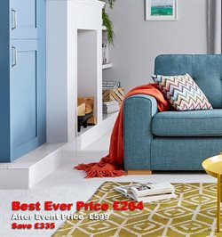 Carpet offers in the DFS catalogue in London