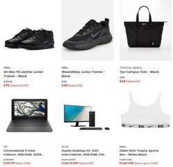 Nike offers in the Littlewoods catalogue ( Expires tomorrow)