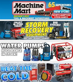 Garden & DIY offers in the Machine Mart catalogue in Kidderminster ( Published today  )